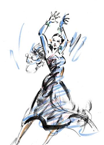 Dancer suibokuga
