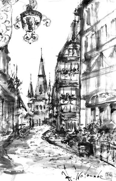ヨーロッパの街風景