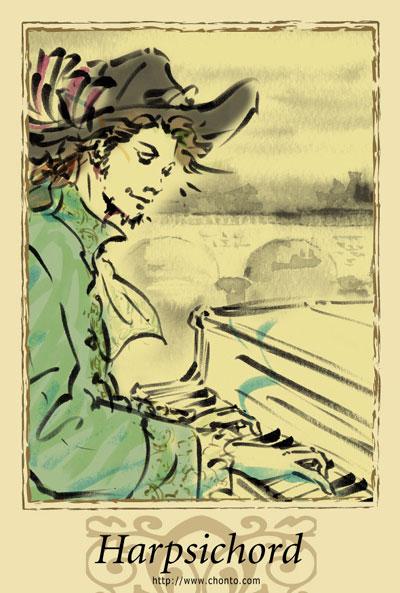 バロック ピアノ